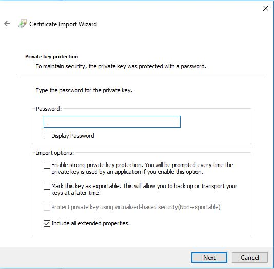 windows cert import wizard